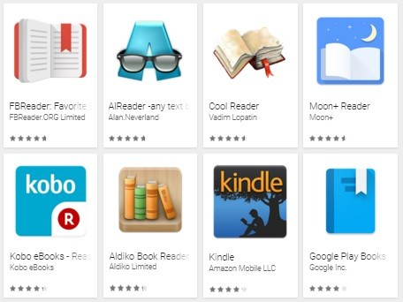 Top Android Reading Apps